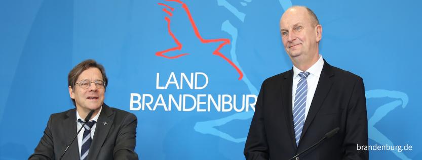 Woidke und Dröge werben für weltoffenes Brandenburg, Foto: brandenburg.de