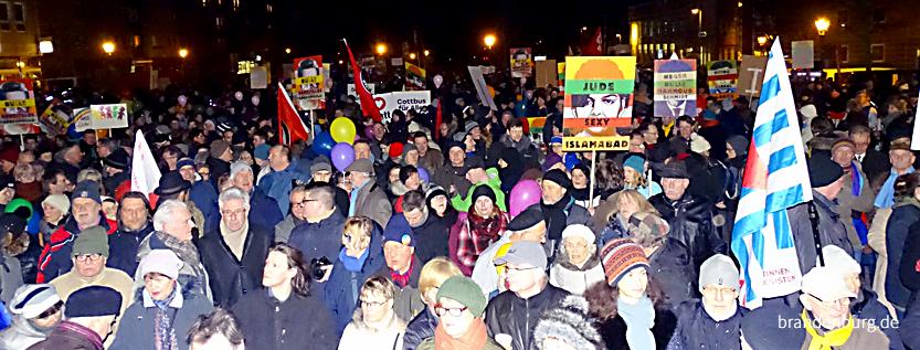Demo in Cottbus