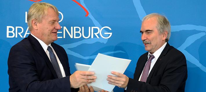 Bernd Becking und Martin Gorholt