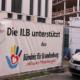 """ILB wirbt am Bauzaun für das """"Bündnis für Brandenburg"""""""