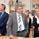 Bildungsministerin Britta Ernst (li) informiert sich im Zentrum für Gewerbeförderung der Handwerkskammer Potsdam in Götz über ein Projekt zur beruflichen Orientierung für junge Flüchtlinge informiert. (Foto: MBJS)