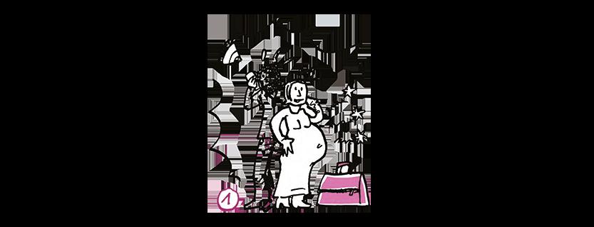 Krankenhaus-Tasche: Packhilfe für Geflüchtete