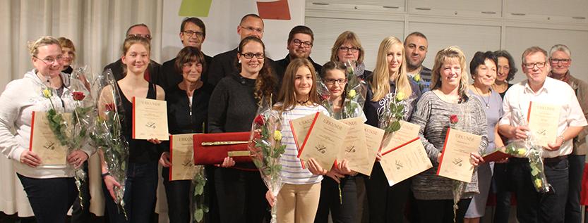 Preisträger der Angermünder Elle 2017