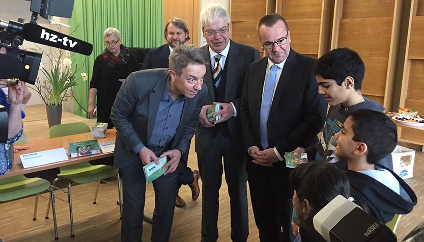 """Pressekonferenz """"Ankommen – So geht Deutschland"""" (Foto: MBJS)"""