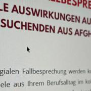 Screenshot eines Einladungsschreibens vom FMI