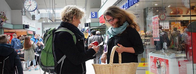 Aktion zum Internationen Tag gegen Rassismus (Foto: tolerantes.brandenburg.de)