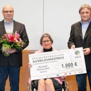 Brandenburgischer Ausbildungspreis: Auszeichnung für interkulturelles Engagement (Foto: medienlabor GmbH/Benjamin Maltry für den Brandenburgischen Ausbildungskonsens)