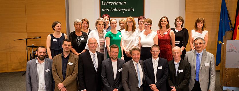 Brandenburgischer Lehrerinnen- und Lehrerpreis (Foto: MBJS/Kuzia)