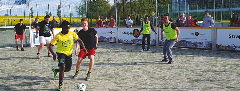 CampCup Brandenburg – Fußballturnier für Geflüchtete (Foto: drk-fluechtlingshilfe-brb.de)