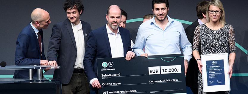 Integrationspreis des Deutschen Fußball-Bundes (Foto: picture alliance/augenklick/GES)