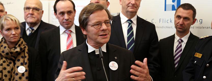 Bischof Markus Dröge zu Diskriminierungen in Flüchtlingsunterkünften