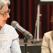 Dialogforum zum Thema Ehrenamt: Lemmermeier und Karawanskij (Foto: Simone Ahrend)
