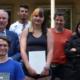 Ehrenamtlerin des Monats: Die 19-jährige Luckenwalderin Claudia Wendt (Mitte)