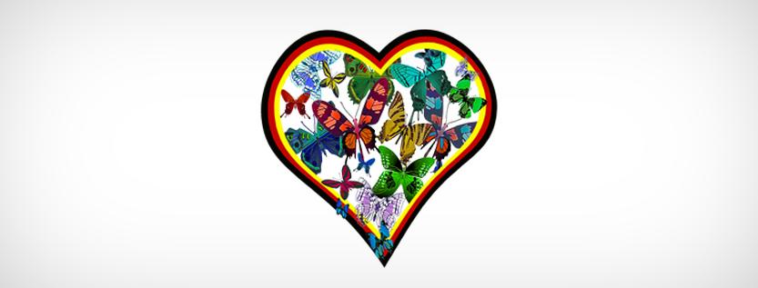 """Das Logo von """"Ein Herz für Deutschland"""""""