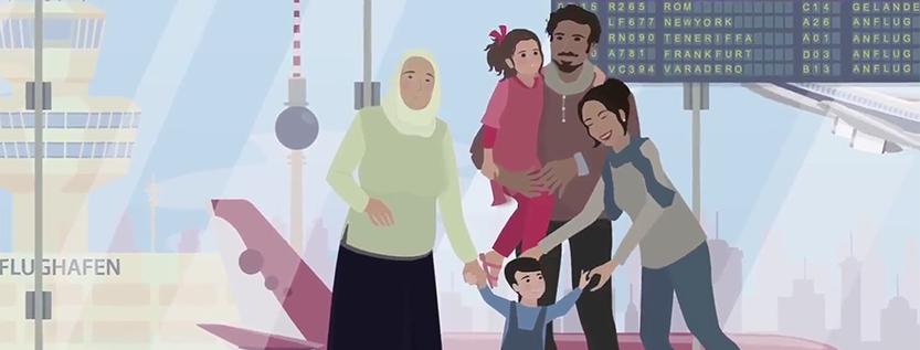 Erklärfilm für Flüchtlingspaten Syrien e.V. (Foto: Filmmanufaktur Potsdam)