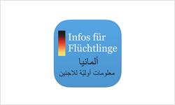 Erste Informationen für Flüchtlinge (App)