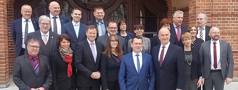 Kabinett vor Ort: Landesregierung und Stadtspitze berieten auch zum Thema Integration