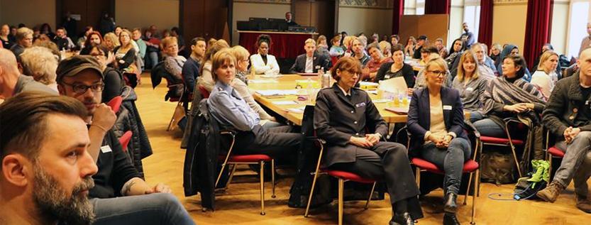 Teilnehmer der Integrationskonferenz in Cottbus (Foto: Stadt Cottbus)