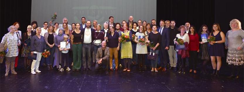 Integrationspreis der Stadt Potsdam – Preisträger 2017 (Foto: Peter Frenkel)
