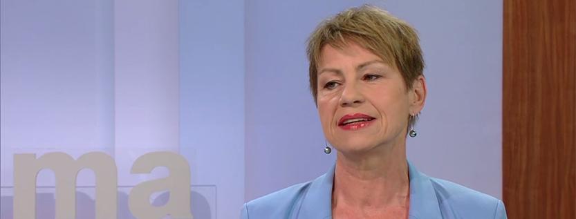 Interview zur Integrationsministerkonferenz im ZDF-Morgenmagazin (Foto: Screenshot zdf.de)