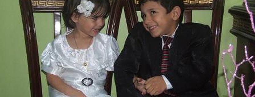 Extremfall der Kinderehe: Kinderheirat in Homs (Quelle: dpa)