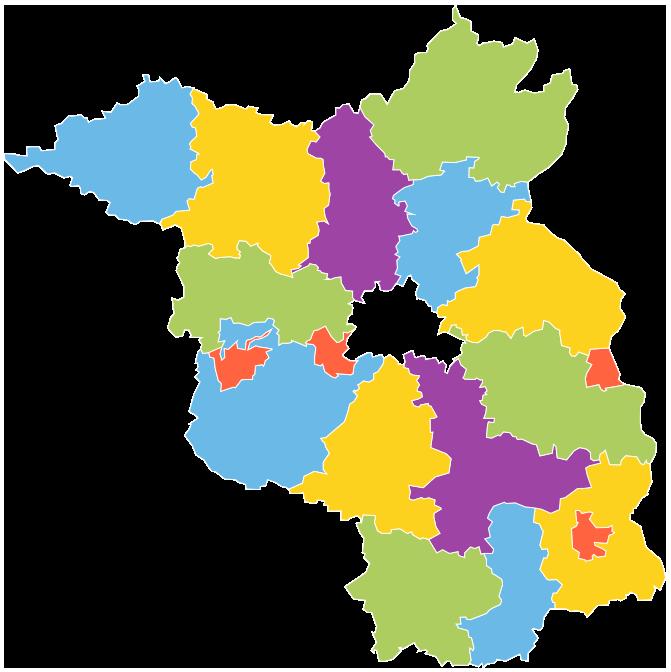 Landkreise Brandenburg