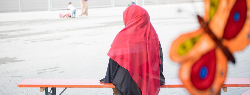 Gleichstellungspolitisches Regionalgespräch: Lebenswege von geflüchteten Frauen (Foto: dpa/Sebastian Gollnow)