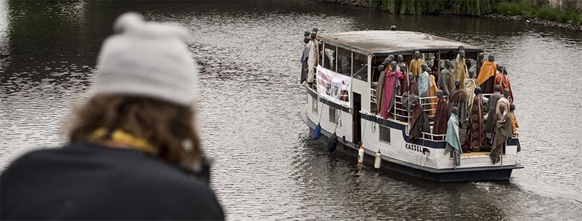 """Flüchtlingsschiffprojekt """"Mit Sicherheit gut ankommen"""" (Foto: msgan.de)"""