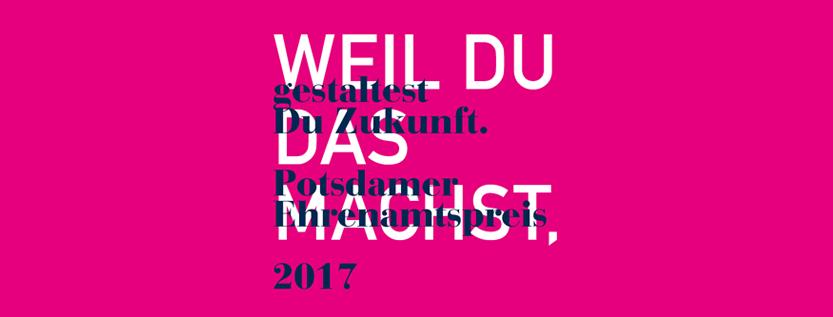 Potsdamer Ehrenamtspreis 2017