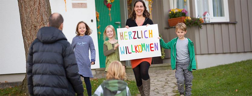 """Projekt """"Begegnungspaten"""" im SOS Kinderdorf Lausitz (Foto: sos-kinderdorf.de)"""