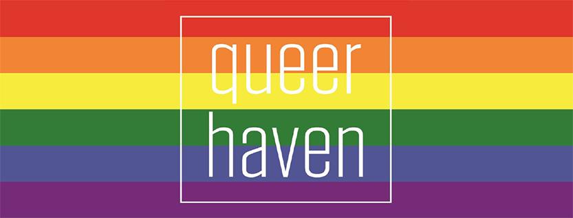 """Logo des Beratungsprojekts """"Queer Haven"""""""